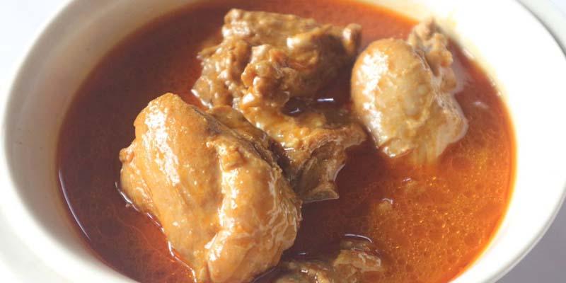 Resipi Gulai Ayam Kelantan