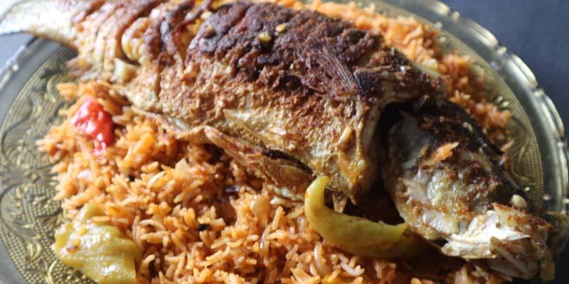 Nasi Arab Ikan Siakap