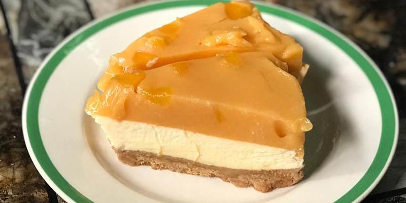 Resipi Mango Cheese Cake